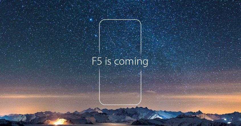 OPPO即将推出旗下首款全面屏手机——OPPO F5