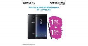 Samsung Galaxy Note FE即日起接受预订,附上限时优惠