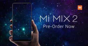 小米MIX 2 于11月16日在本地上市,要价RM2199