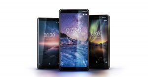 Nokia 8 Sirocco、Nokia 7 Plus、Nokia 6 (2018),Android One 手机三连发