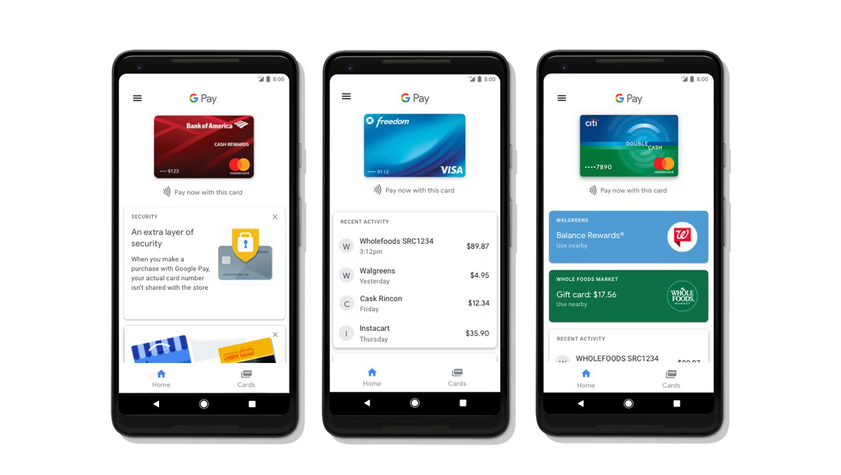 Bye Android Pay! Google Pay 应用正式上线