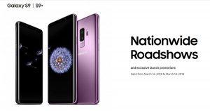 Samsung于3月16日起举行Roadshow:买Galaxy S9 获赠无线充电器
