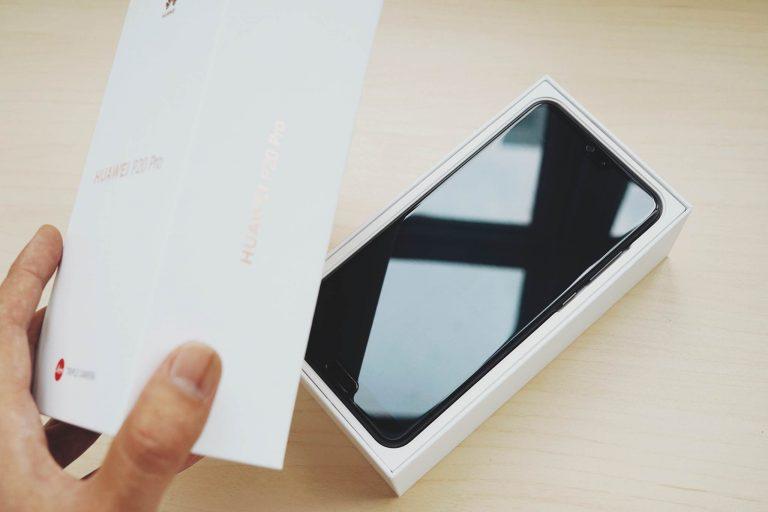 首创徕卡三摄——Huawei P20 Pro 开箱图赏 2