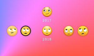 经过下一版本的更新,终于能看懂三星的 emoji 了