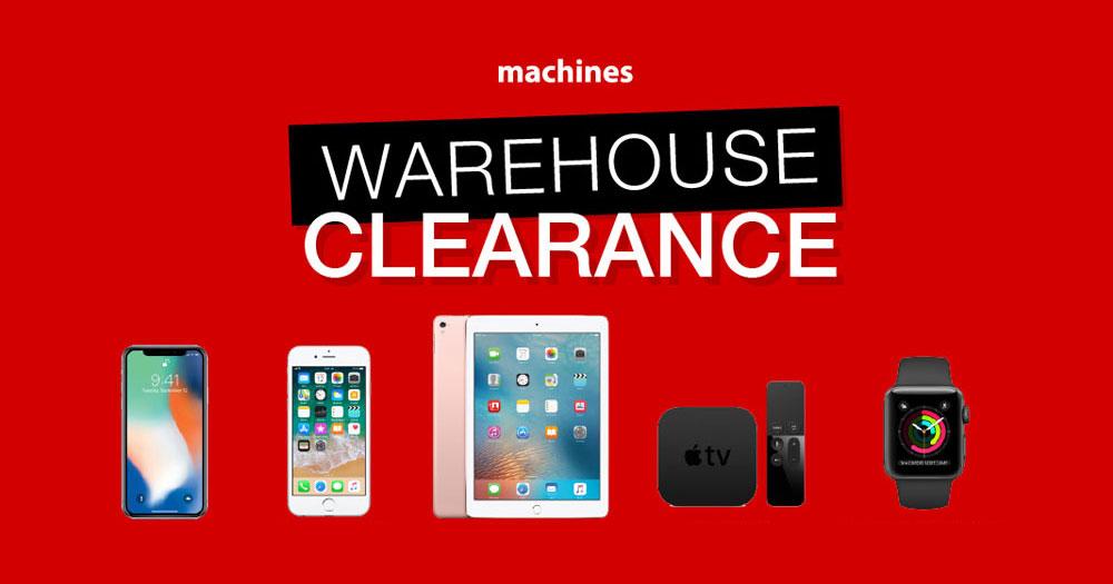 Machines年度大清仓,iPhone X折扣多达RM350!