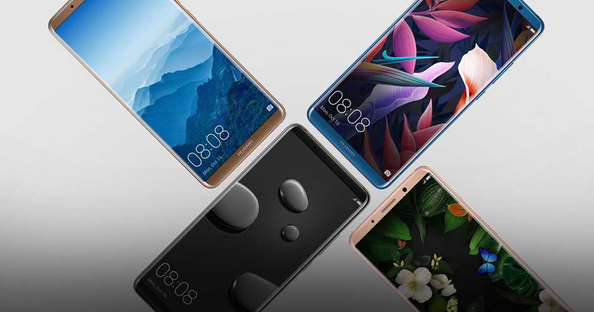 Huawei Mate 10 迎来另一波更新,新增脸部解锁