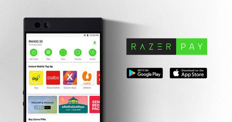大马电子支付服务再添新成员——Razer Pay,首波注册用户获赠限时福利