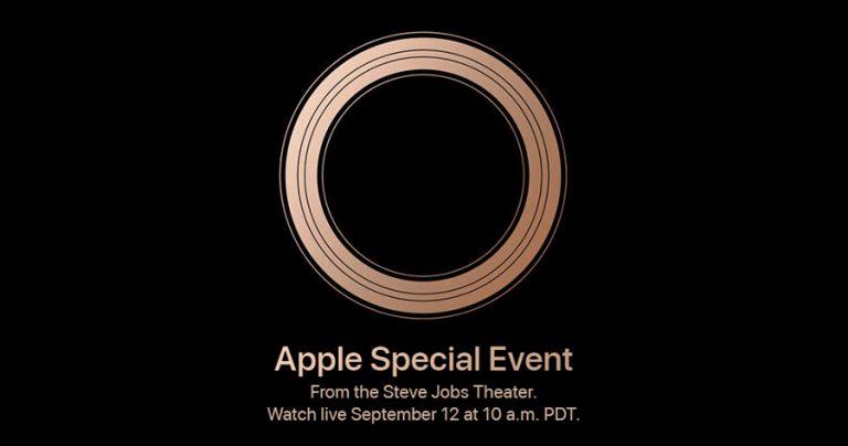 Apple 新品发布会日期敲定:9月12日