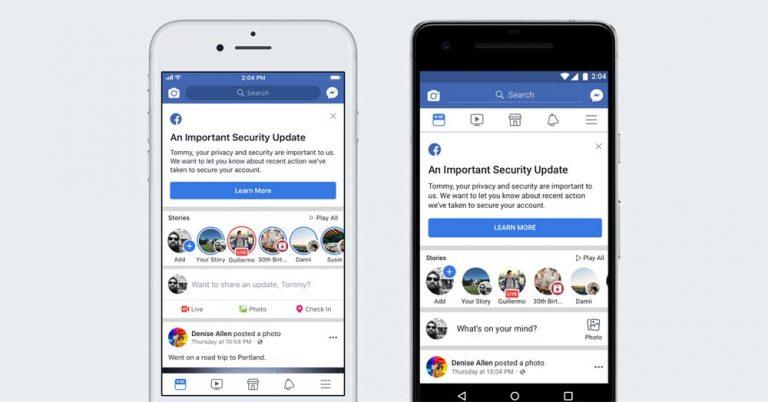 Facebook (再)出现安全漏洞,恐波及至少5000万账号