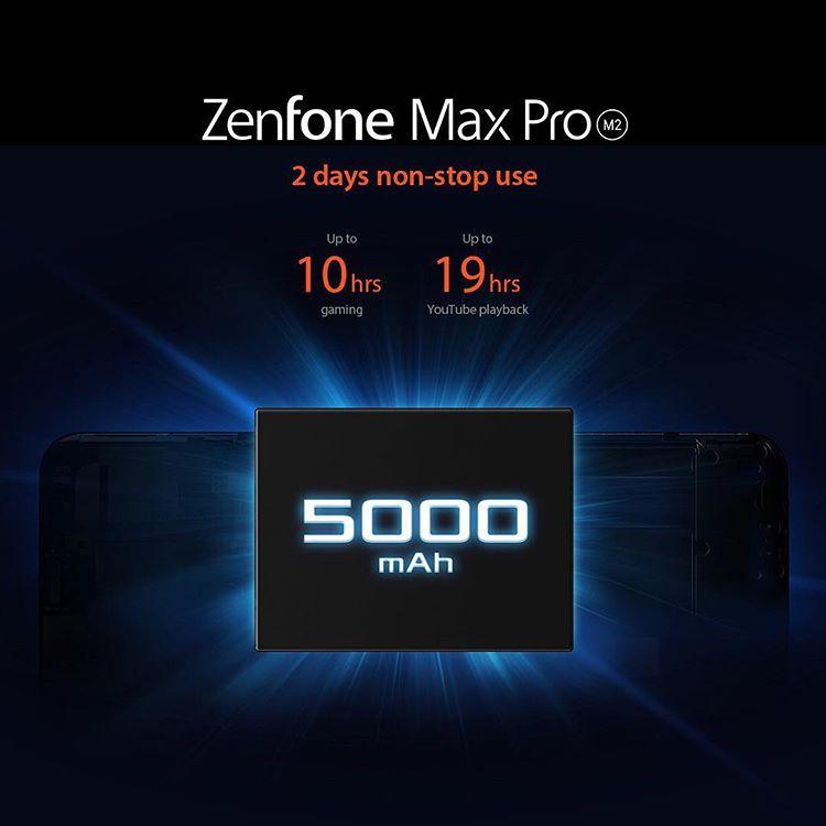高颜值,强劲性能,长继航的中端王者——Asus ZenFone Max Pro (M2) 7
