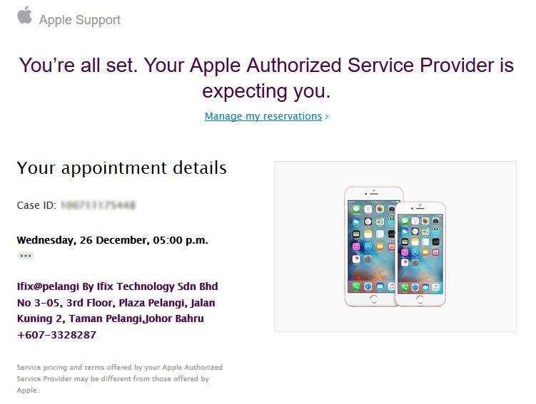 最后的冲刺!iPhone更换电池预约过程及所需注意事项 7