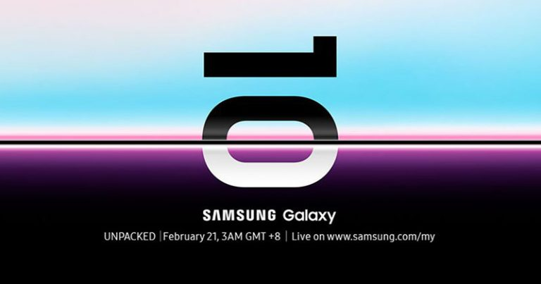 【快讯】Samsung Galaxy S10定于2月20日亮相(折叠屏手机确认!)