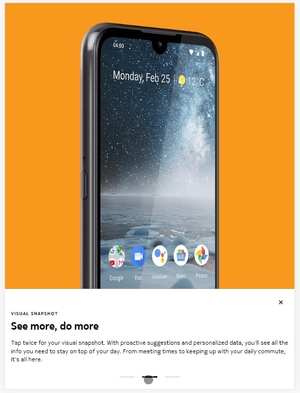 Nokia 4.2带有独立的Google Assistant按键