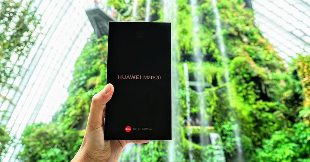 Huawei Mate 20简单开箱,浅析不买Pro的因素