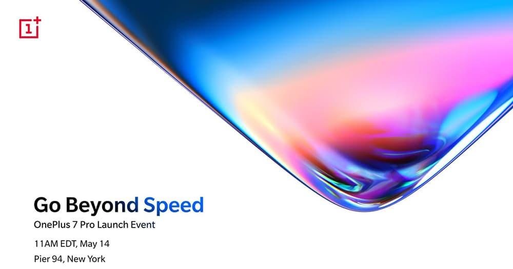 OnePlus 7 系列手机定5月16日于美国纽约亮相