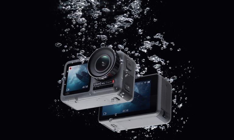 DJI OSMO Action 运动相机以独特前置彩屏瞄准vloger市场,支援裸机11米防水