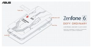 【更新:电池容量确认】Asus 加码爆料ZenFone 6 信息,骁龙855处理器确认