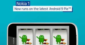 Nokia 1 获 Android Pie (Go Edition) 系统升级