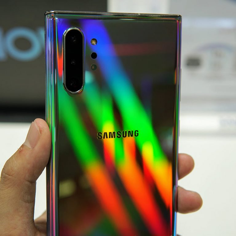 Galaxy Note10+ Aura Glow