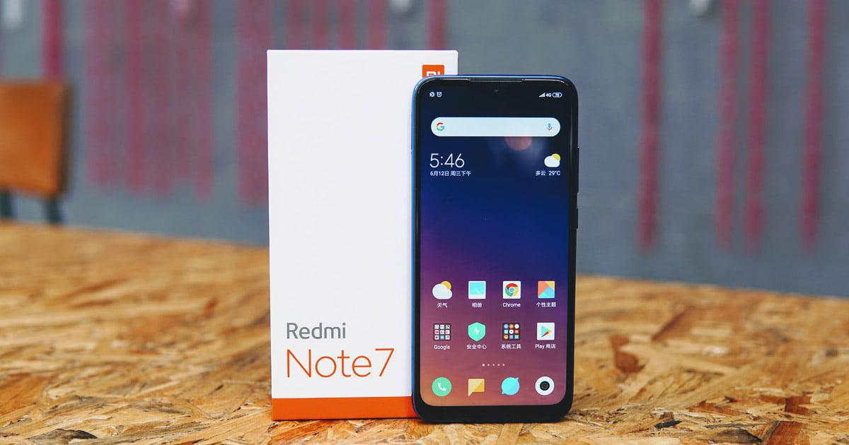 Redmi Note 7 开箱及体验:小金刚综合表现平稳
