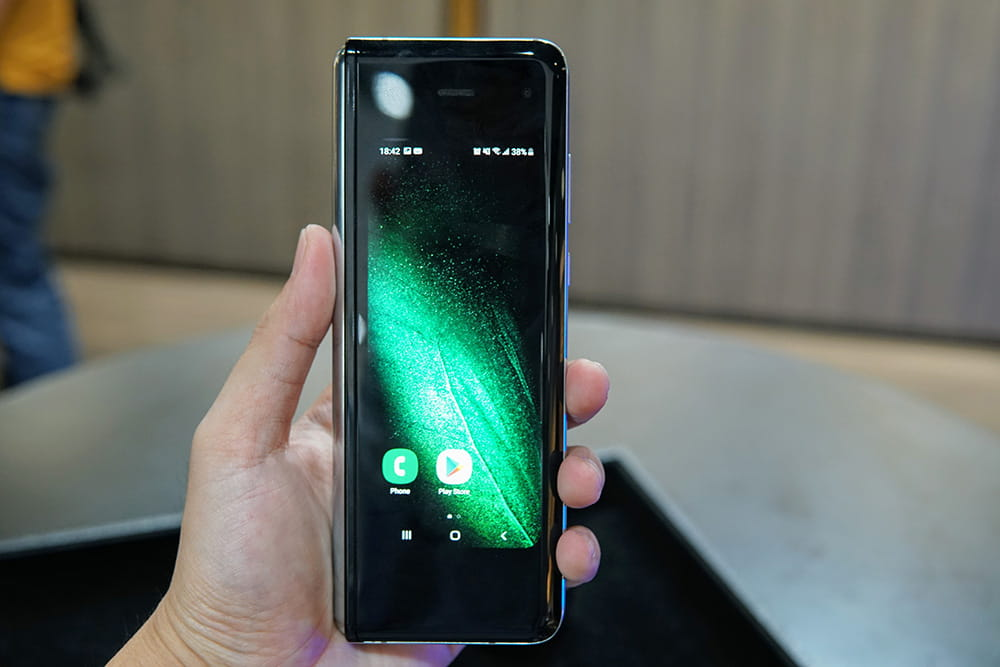 Samsung Galaxy Fold 简单上手 1
