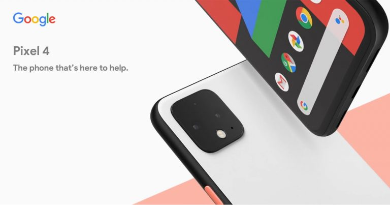 Pixel 4 是 Google 首款搭载双镜头的手机