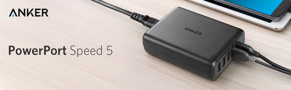 Anker PowerPort Speed 5 (A2054)