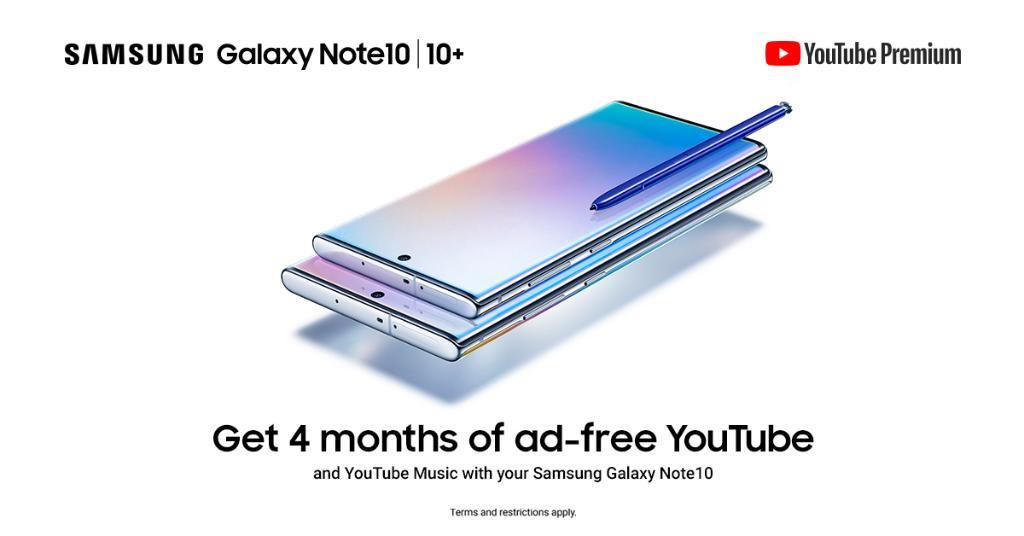 Samsung 派福利!指定 Galaxy 手机/平板电脑上享受无广告,可离线观看的 YouTube Premium,最多高达 4 个月! 16