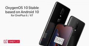 【更新:OnePlus 6 升级】OnePlus 6T  获 Android 10 系统升级