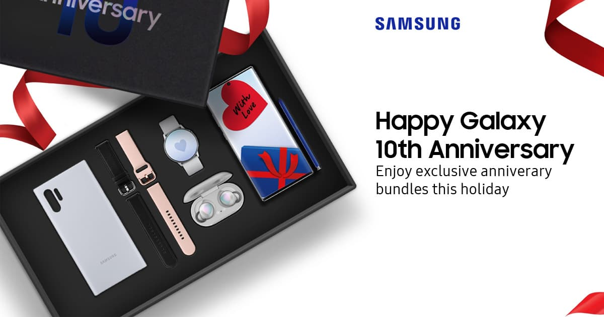Samsung Galaxy 10 周年纪念盒装正式在马来西亚贩售,节省高达 RM799!