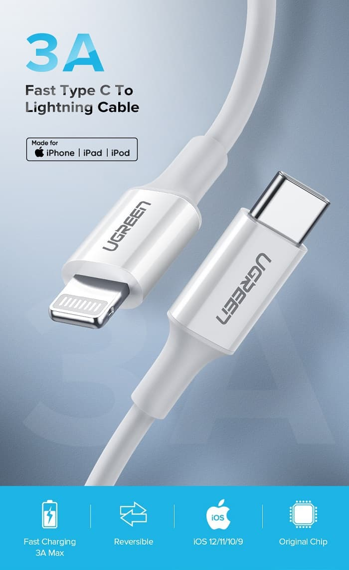 UGREEN USB-C to Lightning 线