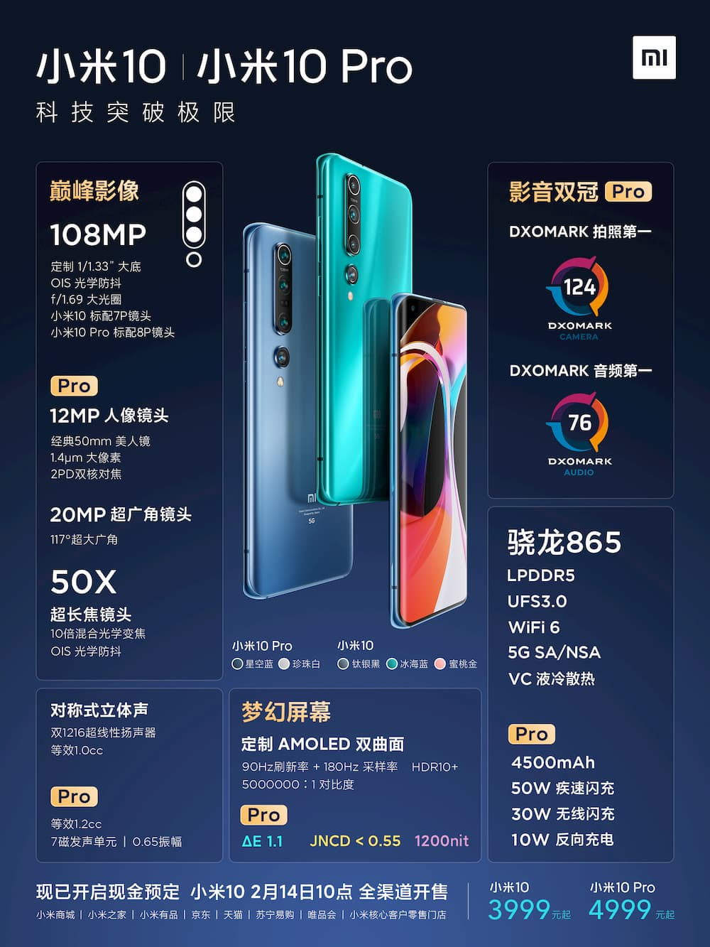Xiaomi 10 / Xiaomi 10 Pro 马来西亚发布会定 4 月 22 日举办 2