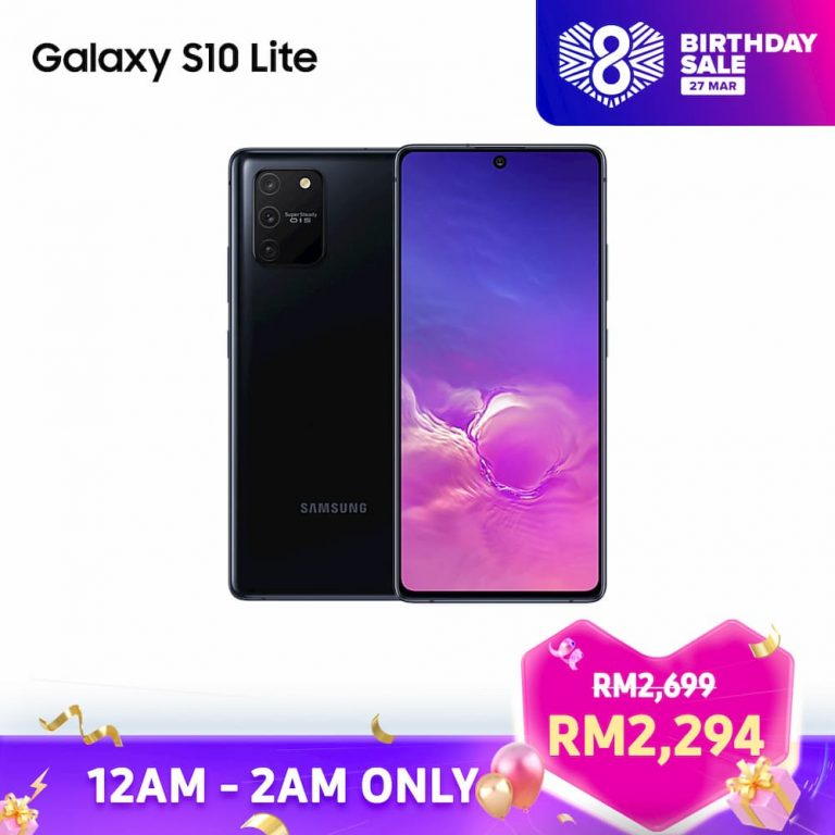 Samsung Galaxy S10 Lite Lazada 8th Birthday Sales