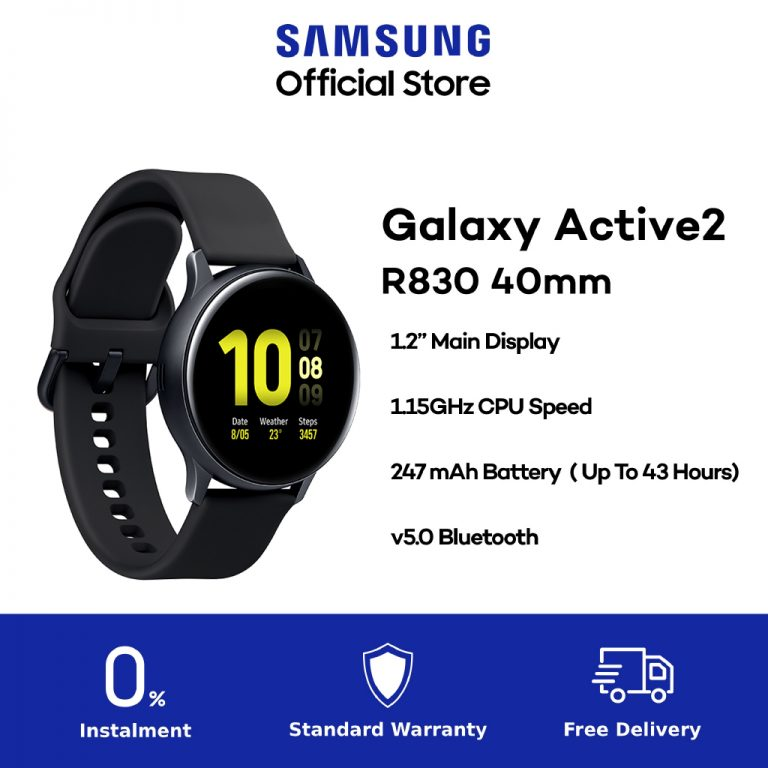 Samsung Galaxy Watch Active 2 40mm Aluminium-2