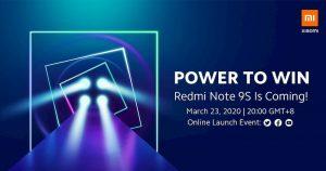 Redmi Note 9s #PowerToWin 新品发布会直播传送门及已知信息总汇