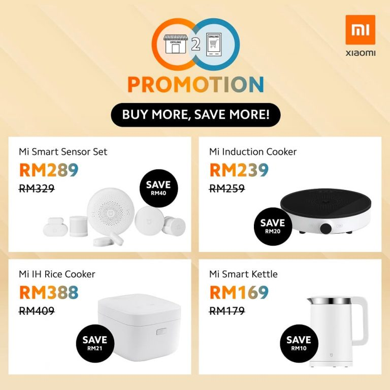 Xiaomi Malaysia O2O Promotion