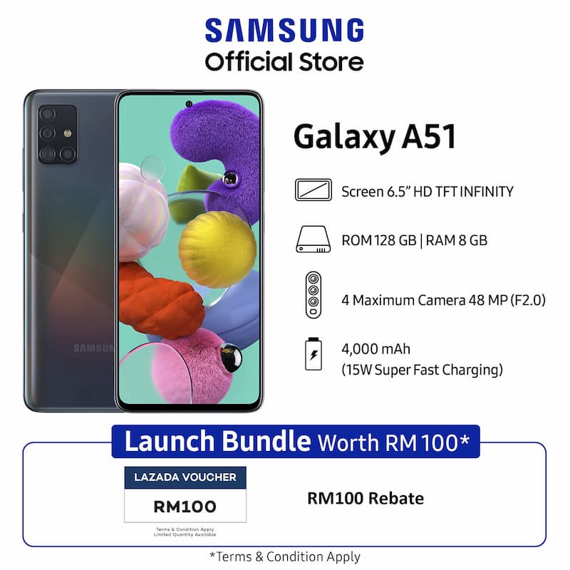 Samsung Galaxy A 系列优惠:额外一年保家期限以及屏幕更换服务,最高价值 RM169 奖励带你领取! 12