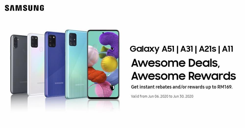 Samsung Galaxy A 系列优惠:额外一年保家期限以及屏幕更换服务,最高价值 RM169 奖励带你领取!