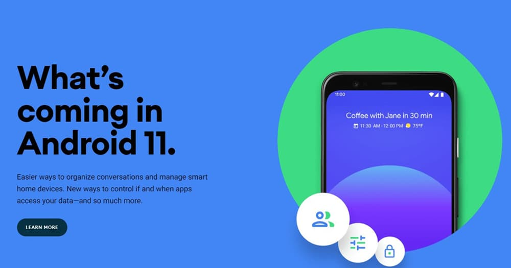 Android 11 Beta 正式上线,5 大新功能及特性抢先看, Pixel 手机现可下载尝鲜