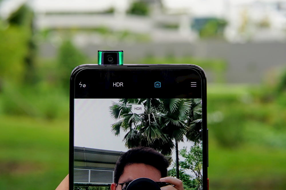 POCO F2 Pro 自拍镜头