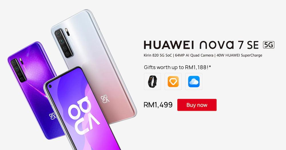 Huawei nova 7 SE 定 6 月 19 日 RM1499 发售,入手还有机会赢取 Proton X70 轿车!