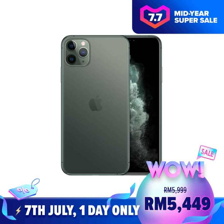 iPhone 11 Pro Max Lazada 7.7 Mid-Year Sales