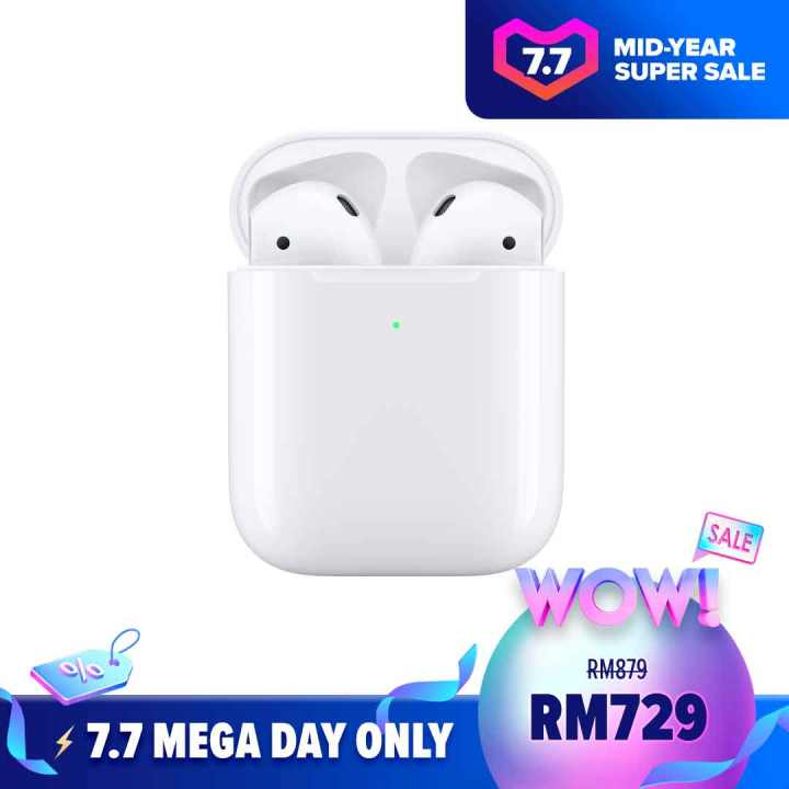 AirPods with Wireless Charging Case Lazada 7.7 Mid-Year Sales