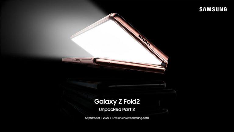 【更新:发布会直播链接】一同在 9 月 1 日翻开 Samsung Galaxy Z Fold2 的神秘面纱