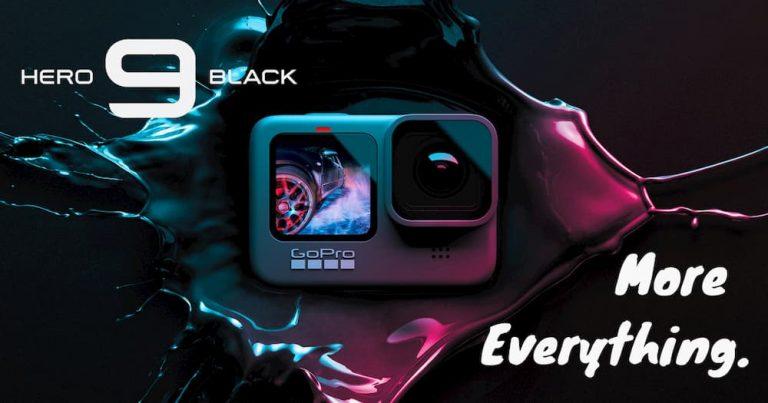 """GoPro Hero9 Black """"全面升级"""":5K 视频、双彩色屏、提升续航,现售 RM2099"""