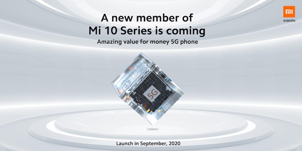 小米 10 系列即将迎来新成员,搭载全新高通 5G 处理器?