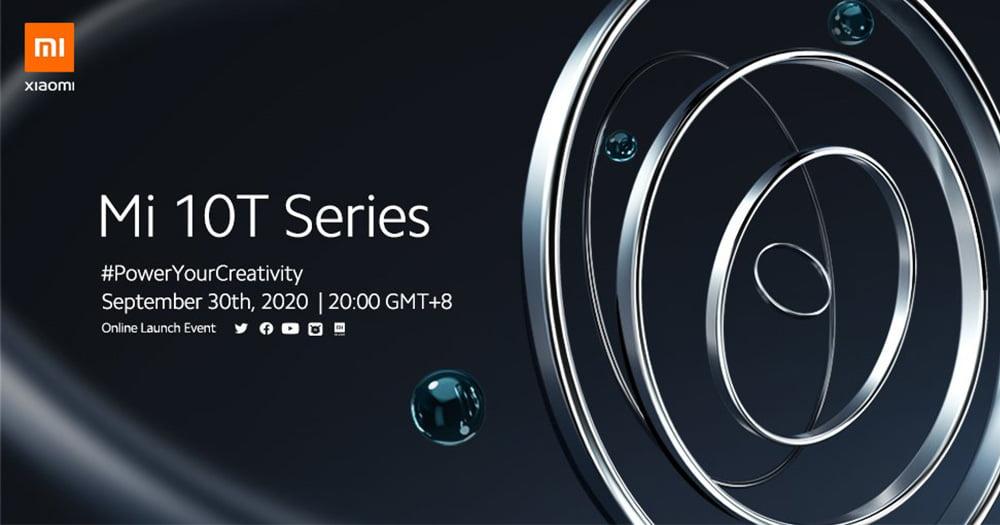 【更新:发布会直播链接】小米 10T 系列发布会定于 9 月 30 日,或亮相 144Hz 刷新率新品?