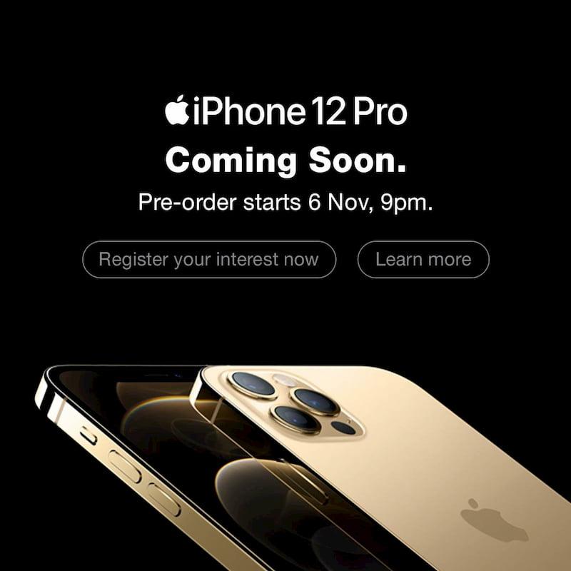 iPhone 12 Pro 系列马来西亚预购时间