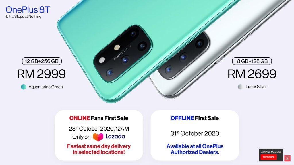 OnePlus 8T 正式抵马:售价 RM2699 起,10/28 日线上发售,11/11 限量发售 OnePlus 8T 礼盒! 7