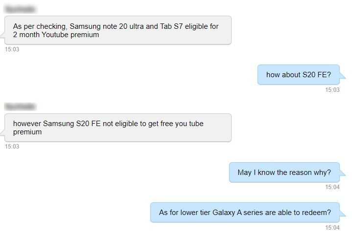 【10/26更新:Note20 系列】Samsung 大派 YouTube Premium 会员,入手 Galaxy 智能设备就可享受长达 4 个月无广告,不间断 YouTube 体验! 2
